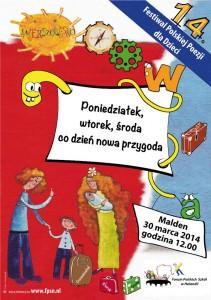 Wierszowisko 2014 plakat