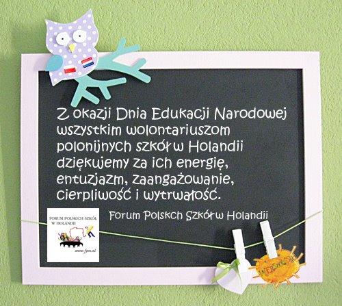 Dzień Edukacji Narodowej życzenia