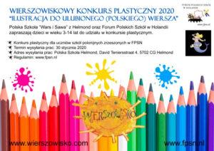 Zaproszenie Do Konkursu Plastycznego 2020 Fpsn